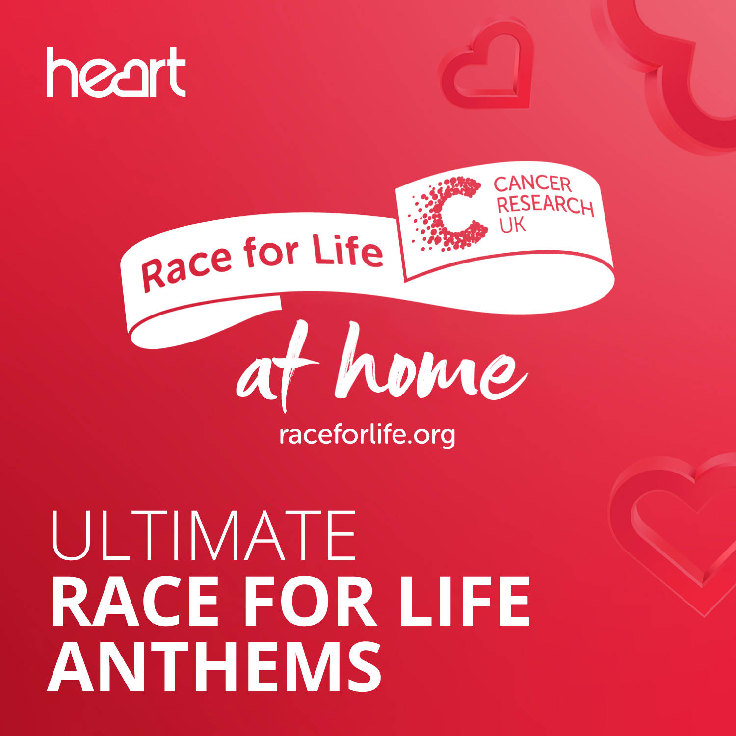 Ultimate Race For Life Anthems image