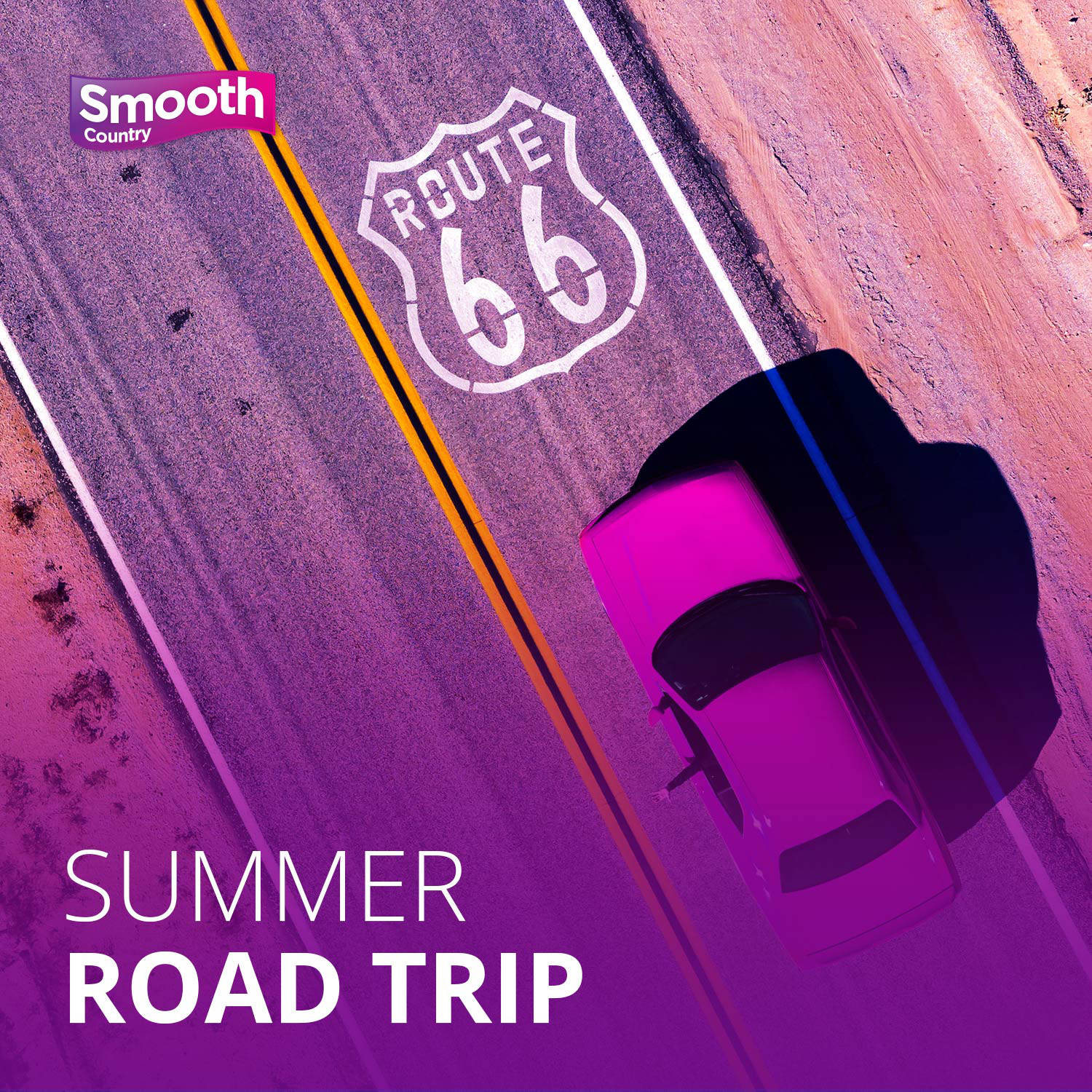 Smooth Country Summer Road Trip image