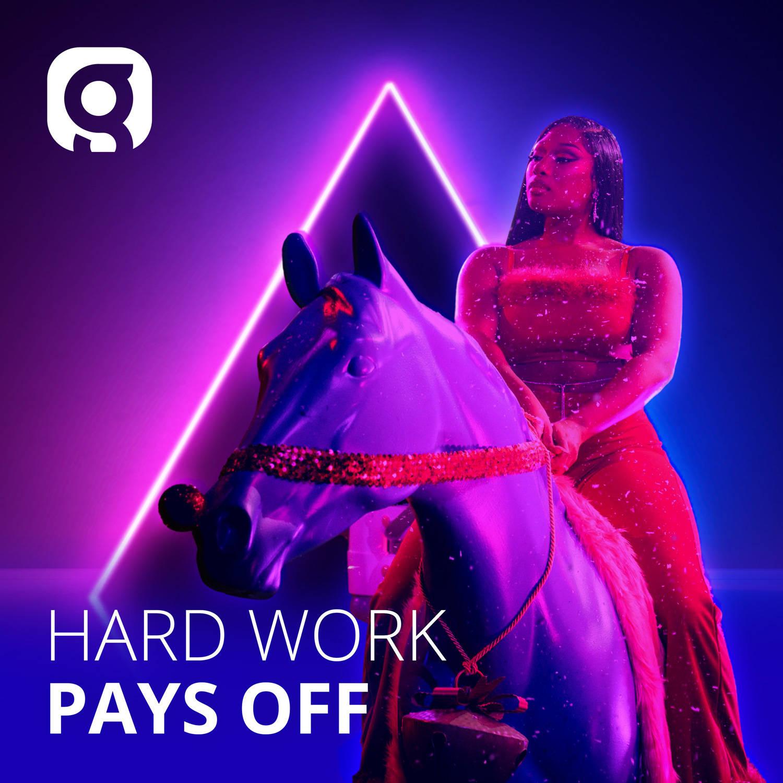 Hard Work Pays Off image